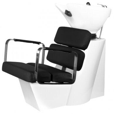 Kirpyklos plautuvė GABBIANO PROFESSIONAL HAIRWASHER MULTIPLA BLACK SEAT 2