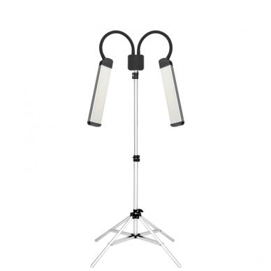Kosmetologinė LED lempa makiažui 28W + krepšys 7