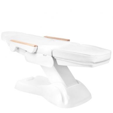 Kosmetologinis krėslas ELECTRIC HEATED WHITE 4