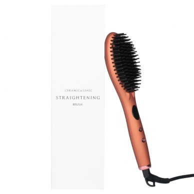 Plaukus tiesinantis šepetys CERAMIC BRUSH HAIR IONIC 5