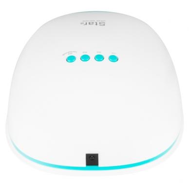 UV/LED nagų lempa 54W WHITE BLUE 5