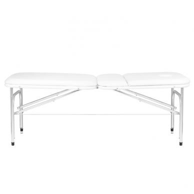 Saliekamais masāžas galds ALU PROFI WHITE 2