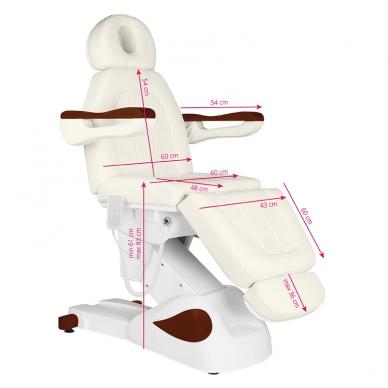 Kosmetologinis krėslas ELECTRIC ECLIPSE CREAMY 9