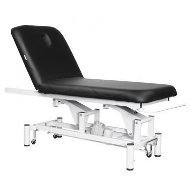 Elektriskās masāžas galds AZZURRO MASSAGE 4 BLACK