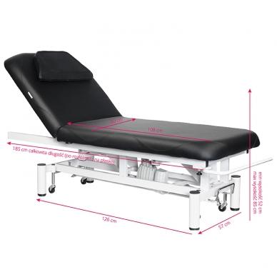Elektrinis masažo stalas AZZURRO MASSAGE 4 BLACK 5