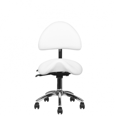Meistro kėdutė COSMETIC STOOL WHITE 5
