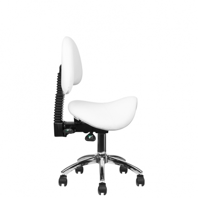 Meistara krēsls COSMETIC STOOL WHITE 9