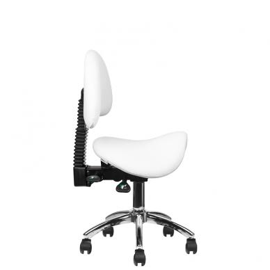 Meistro kėdutė COSMETIC STOOL WHITE 9