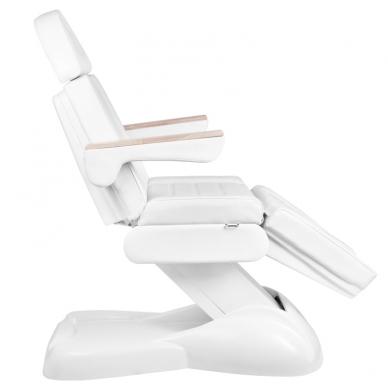 Kosmetologinis krėslas ELECTRIC LUX WHITE (2 elektriniai varikliai) 2