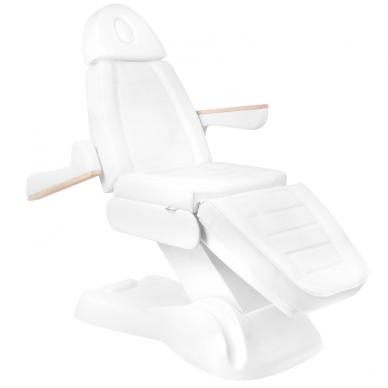 Kosmetologinis krėslas ELECTRIC LUX WHITE (2 elektriniai varikliai) 3