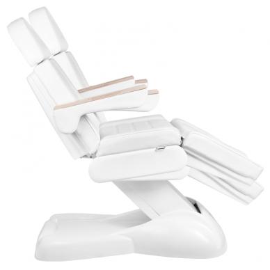 Kosmetologinis krėslas ELECTRIC LUX WHITE (2 elektriniai varikliai) 6