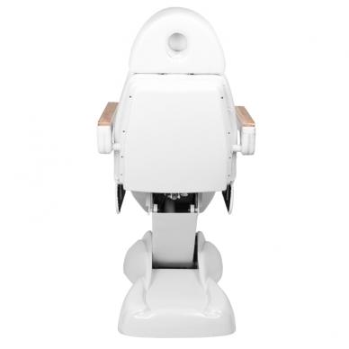 Kosmetologinis krėslas ELECTRIC LUX WHITE (2 elektriniai varikliai) 7