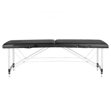 Saliekamais masāžas galds ALU COMFORT 2 BLACK 2