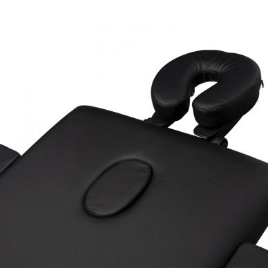 Saliekamais masāžas galds ALU COMFORT 2 BLACK 5