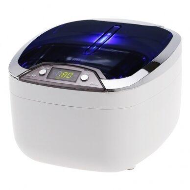 Ultraskaņas vanna 850ml, 55W WHITE 2