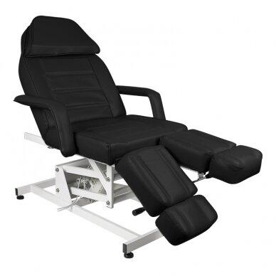 Kosmētikas krēsls AZZURRO ELECTRIC 1 MOTOR PEDI BLACK 2
