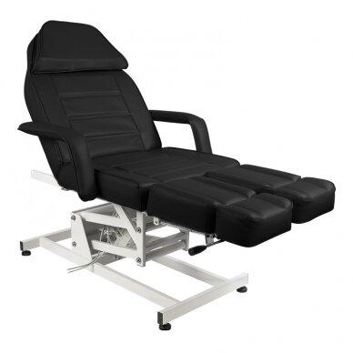 Kosmētikas krēsls AZZURRO ELECTRIC 1 MOTOR PEDI BLACK 3