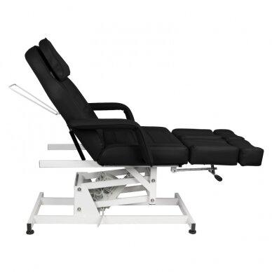 Kosmētikas krēsls AZZURRO ELECTRIC 1 MOTOR PEDI BLACK 4