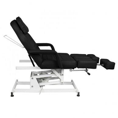 Kosmētikas krēsls AZZURRO ELECTRIC 1 MOTOR PEDI BLACK 5