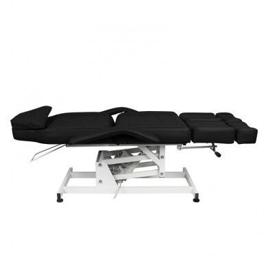 Kosmētikas krēsls AZZURRO ELECTRIC 1 MOTOR PEDI BLACK 6
