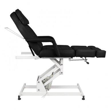 Kosmētikas krēsls AZZURRO ELECTRIC 1 MOTOR PEDI BLACK 7