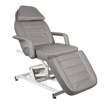 Kosmētikas krēsls AZZURRO ELECTRIC 1 MOTOR GREY