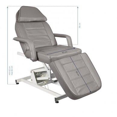 Kosmētikas krēsls AZZURRO ELECTRIC 1 MOTOR GREY 3
