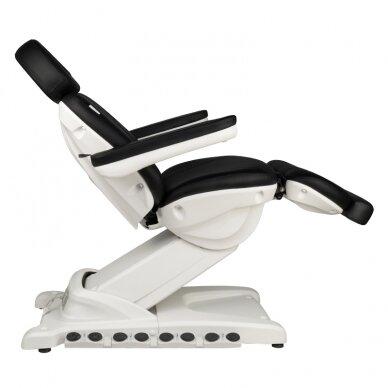 Kosmētikas krēsls AZZURRO EXCLUSIVE 4 MOTOR HEATED BLACK 8