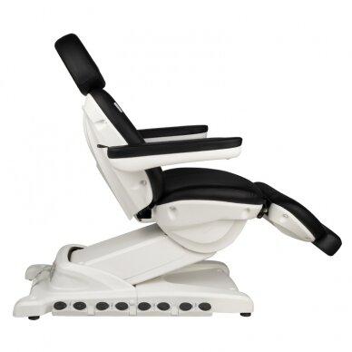 Kosmētikas krēsls AZZURRO EXCLUSIVE 4 MOTOR HEATED BLACK 9