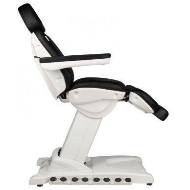 Kosmētikas krēsls AZZURRO EXCLUSIVE 4 MOTOR HEATED BLACK 10