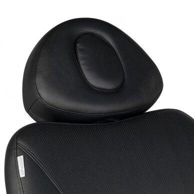 Kosmētikas krēsls AZZURRO EXCLUSIVE 4 MOTOR HEATED BLACK 13