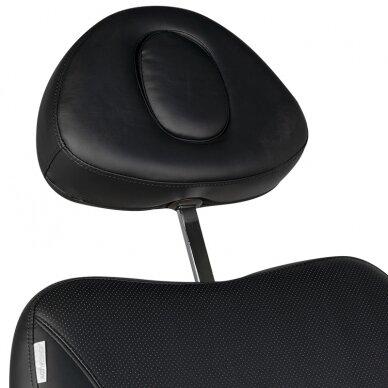 Kosmētikas krēsls AZZURRO EXCLUSIVE 4 MOTOR HEATED BLACK 14