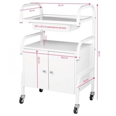 Kosmetologinis vežimėlis MODEL 1018 4