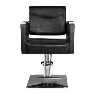 Frizieru krēsls HAIRDRESSING CHAIR 08 BLACK 2