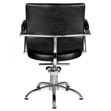 Frizieru krēsls HAIRDRESSING CHAIR 01 BLACK 2