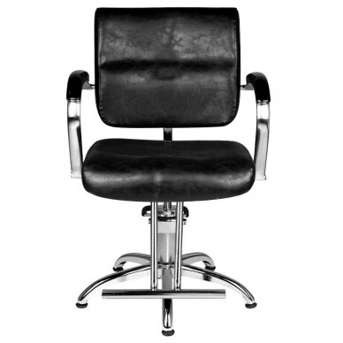 Frizieru krēsls HAIRDRESSING CHAIR 01 BLACK 3