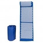 Akupresūros masažinis kilimėlis 130x43cm + Akupresūros masažinė pagalvė
