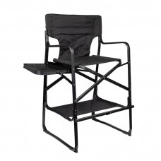 Grima krēsls FOLDABLE MAKE-UP CHAIR BLACK
