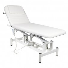 Elektrinis masažo stalas ELECTRIC BED 1 MOTOR WHITE