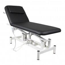 Elektrinis masažo stalas ELECTRIC BED 1 MOTOR BLACK