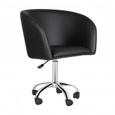 Meistara krēsls COSMETIC CHAIR LADY BLACK