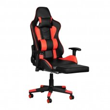 Mängutool GAMING CHAIR PREMIUM RED WITH FOOTREST