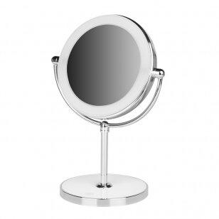 Spogulis ar LED gaismu aplauzumam ROUND