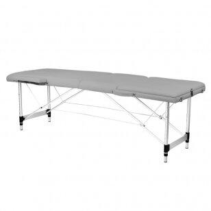 Saliekamais masāžas galds ALU COMFORT 3 GREY