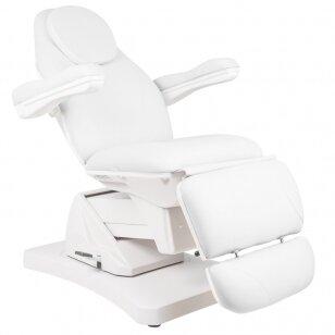 Kosmētikas krēsls ELECTRIC 3 ROTARY WHITE