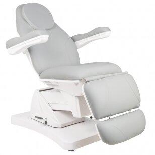 Kosmētikas krēsls ELECTRIC 3 ROTARY GRAY