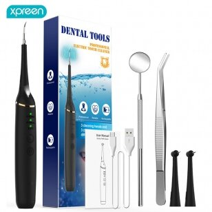 Daugiafunkcinis dantų priežiūros įrankių rinkinys XPREEN