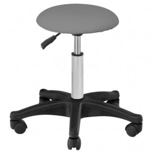 Meistara krēsls BEAUTY STOOL GRAY