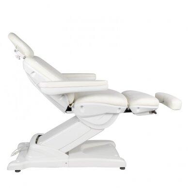 Kosmētikas krēsls AZZURRO ELECTRIC 2 MOTOR WHITE 6
