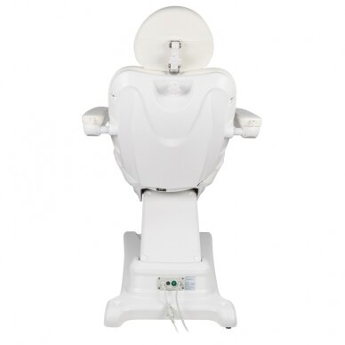 Kosmētikas krēsls AZZURRO ELECTRIC 2 MOTOR WHITE 7